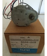 Hurst 3002-005 Model A Geared Synchronous Motor 4 rpm 115 vac - $69.95