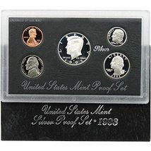 1993 S Silver Proof Set - $33.23