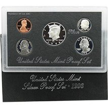 1996 S Silver Proof Set - $32.73