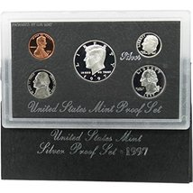 1997 S Silver Proof Set - $37.99