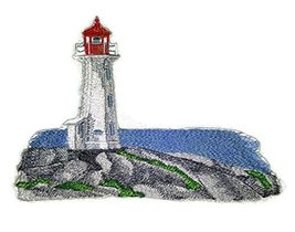 """""""Captain I See The Light"""" Custom and Unique Lighthouse[Peggy's Point Lig... - $21.77"""