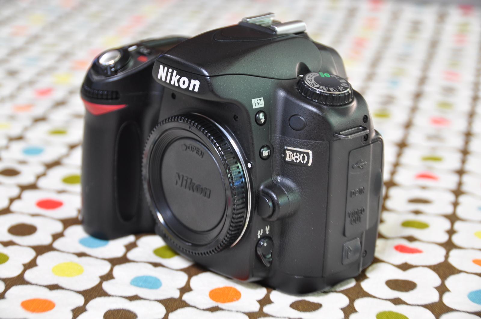 Nikon d80.stock