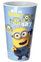 Despicable  Me Minions Plastic Theater Cups A Pack Of 4 Cups - $12.95