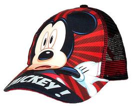 Mickey Mouse Hat Baseball Style & Umbrella Set - $14.95