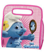 SMURFS INSULATED LUNCHBOX. INCLUDES A SANDWICH BOX! - £9.50 GBP
