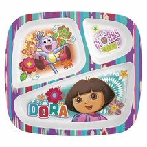 DORA-PLATE (divided) BOWL & CUP SET - $15.00