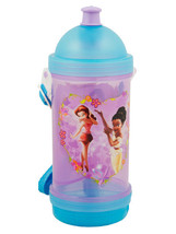 DISNEY FAIRIES WATER BOTTLE-BY ZAK DESIGNS - $4.95