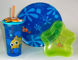 FINDING DORY FINDING NEMO PLATES, BOWLS, CUPS - $12.95