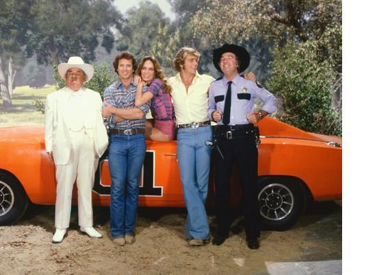 Dukes of Hazzard G Catherine Bach Vintage 16X20 Color TV Memorabilia Photo