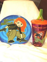 KIM POSSIBLE PLATE & CUP - $10.00