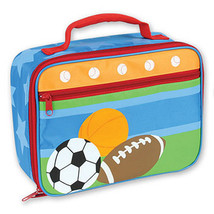 SPORTS LUNCHBOX-BY STEPHEN JOSEPH - $11.66