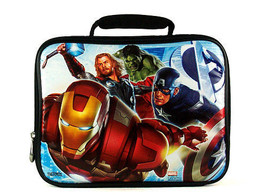 Avengers soft lunchbox & Captain America water bottle - $18.95