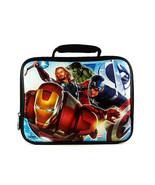 Avengers soft lunchbox & Captain America water bottle - $18.95