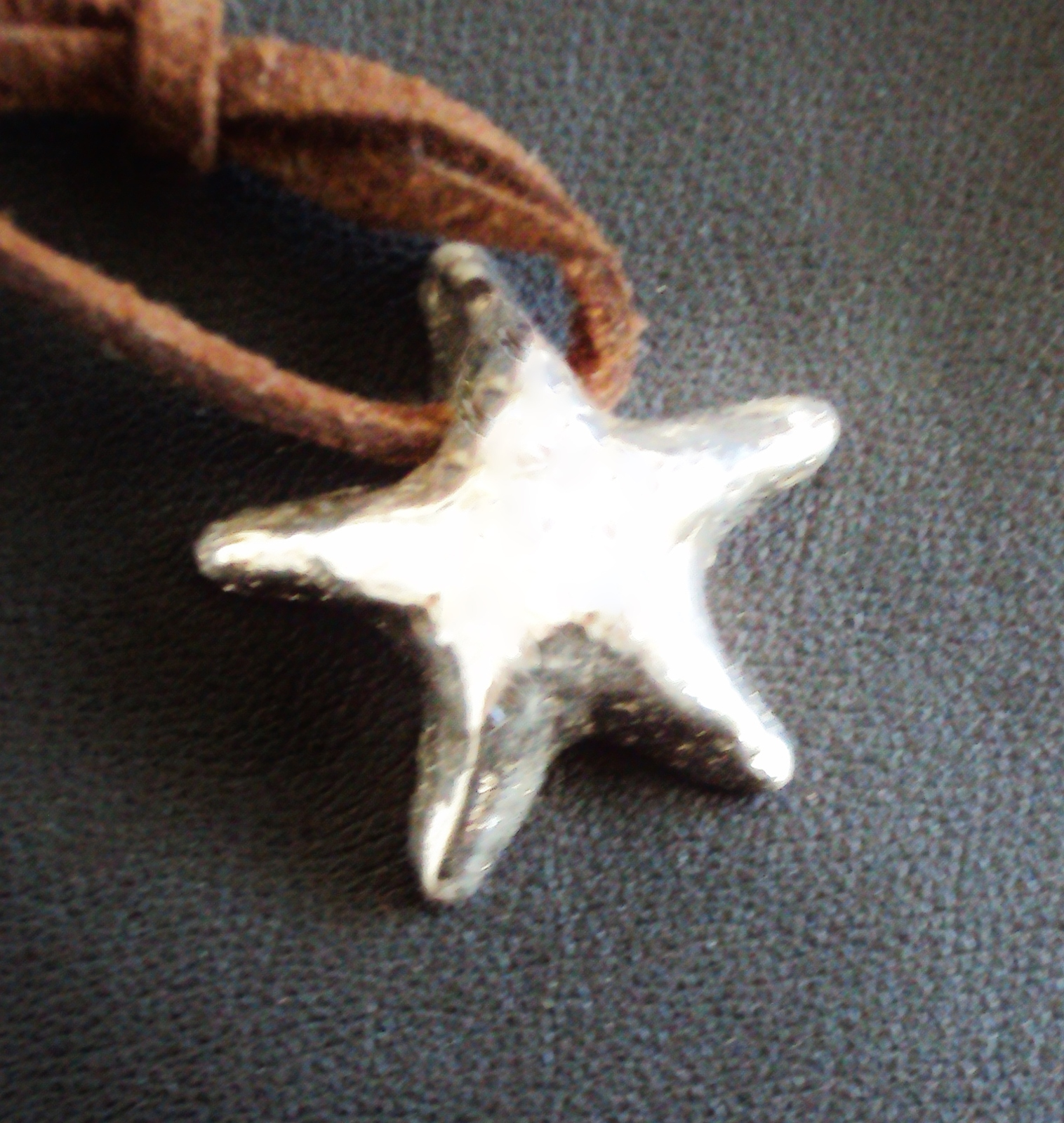Wishing  Star Silver Necklace .999 Pure Silver