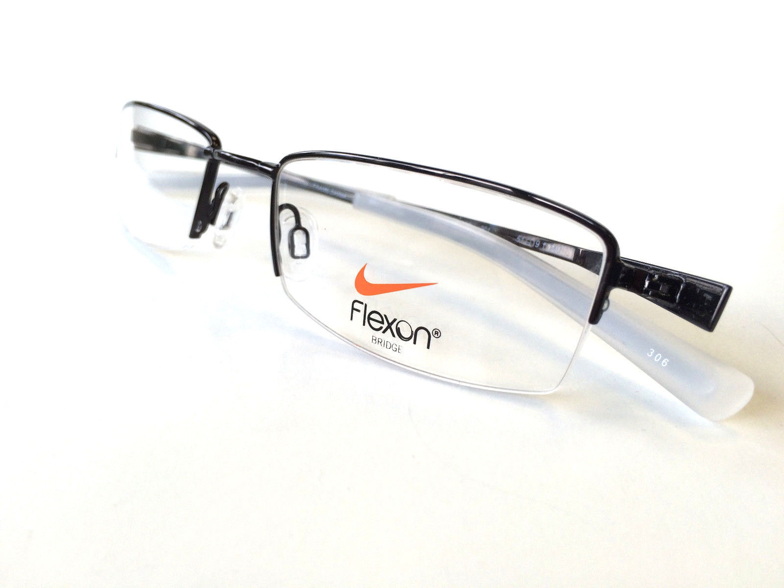 Eyeglass Frames Nike Flexon : Nike Flexon Eyeglass Frame Rimless NK 4222 Mens Eyewear ...