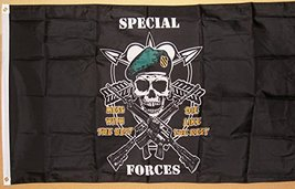Special Forces Military Flag 3' X 5' Deluxe Classic Silk Screened Banner - $12.95