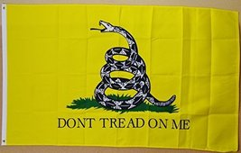 Gadsden Dont Tread On Me Flag 3' x 5' Indoor Outdoor Deluxe Banner - $9.95