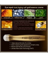 Anti-Wrinkle Anti-Aging 24K Nano Gold Essence Eye Creme Massage Roll On... - $24.95+