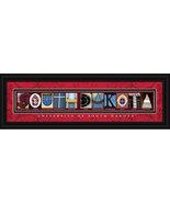 University of South Dakota Officially Licensed Framed Letter Art  - $39.95