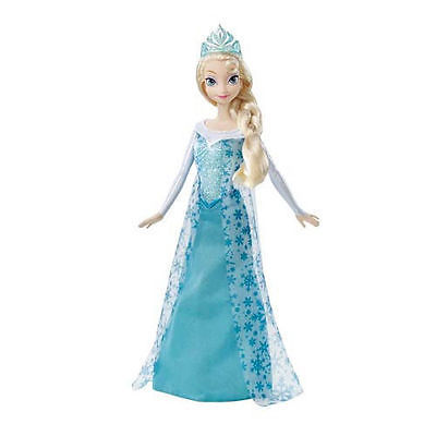 Primary image for Elsa Doll Disney Frozen Sparkle Princess Ana Sister Let it Go Olaf Friend New
