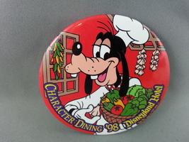 Disneyland Pin - Character Dining 98 Disneyland Hotel - Celluloid Pin - $15.00