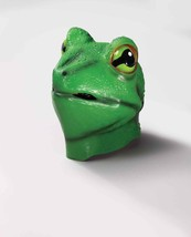 Deluxe Latex Frog Adult Latex Overhead Animal Mask Fun@Halloween - Fun Anytime ! - $27.62
