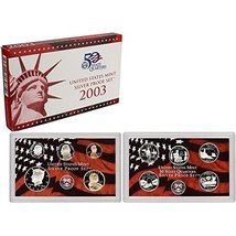 2003 S Silver Proof Set - $42.27