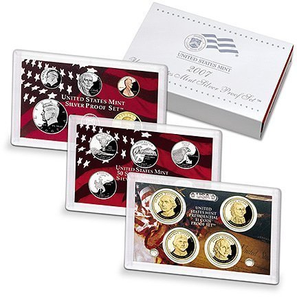 2007 S Silver Proof Set