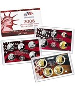 2008 S Silver Proof Set - $73.04