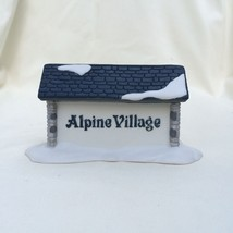 Department 56 Alpine Village Sign Handpainted w... - $14.50