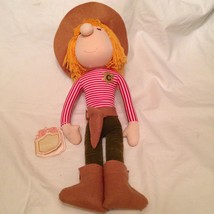 "Applause Piroette Plush Chester Sheriff VTG 1982 doll toy 18"" large No. ... - $29.02"