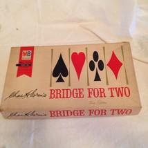 Chas H. Goren's Bridge For Two Board Game Vintage 1964 Milton Bradley - $19.34