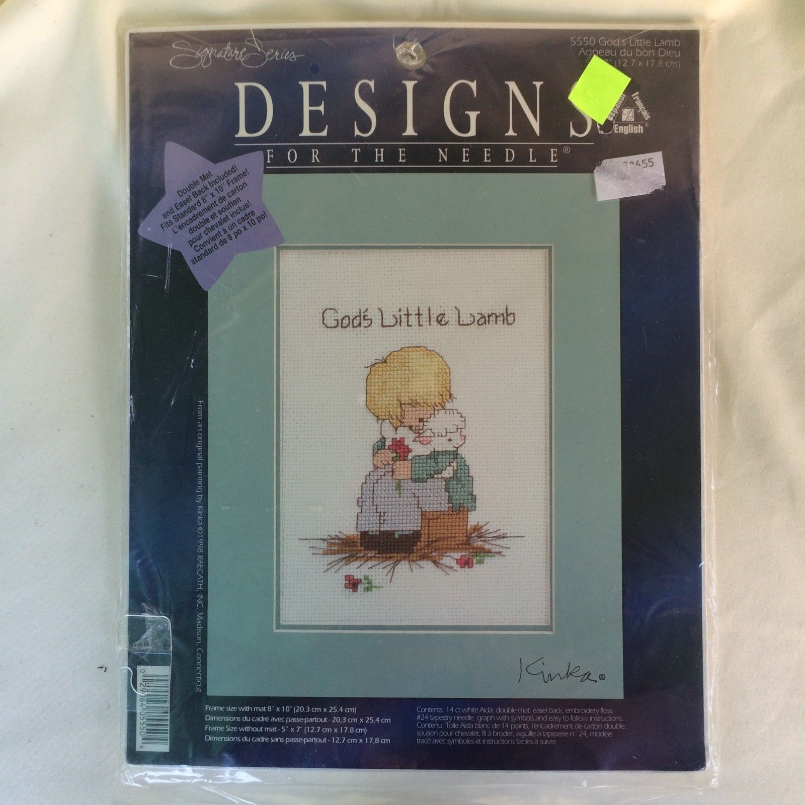 b0d6794ea09f4 God s Little Lamb Sealed Cross Stitch Kit and similar items. 57