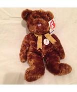"TY FIFA World Cup USA Bear Beanie Buddy 13"" Plush Champion Korea Japan 2002 - $29.02"