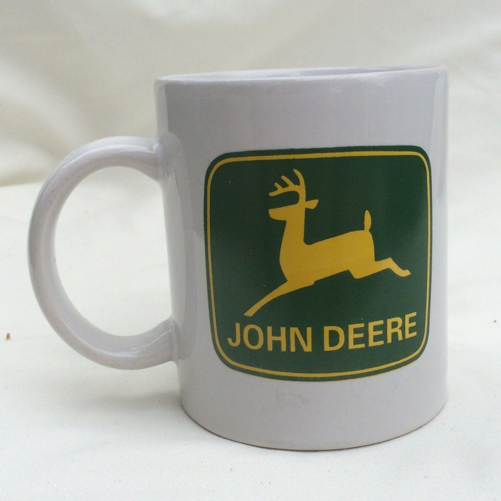 John Deere Green Yellow Logo Tractor 3.5