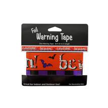 Bulk Buys Foil Halloween Warning Tape - Pack of 24 - $35.99