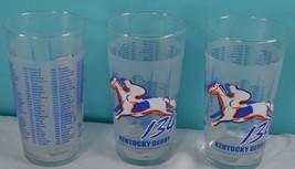 2008 KENTUCKY DERBY JULIP GLASS HORSE RACING CHURCHILL DOWNS 12OZ. Licen... - $19.23