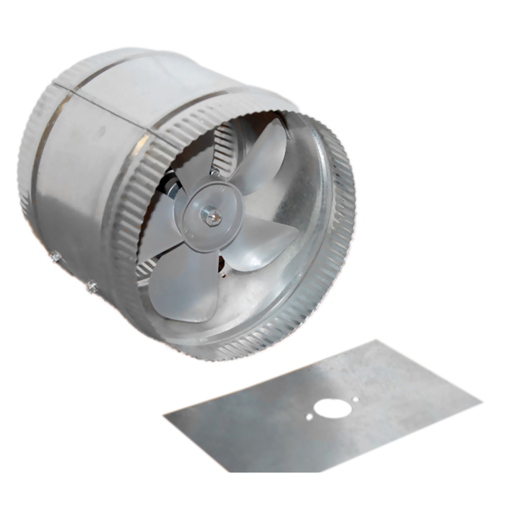 Air Duct Booster : Acme miami quot air flow energy efficiency duct booster