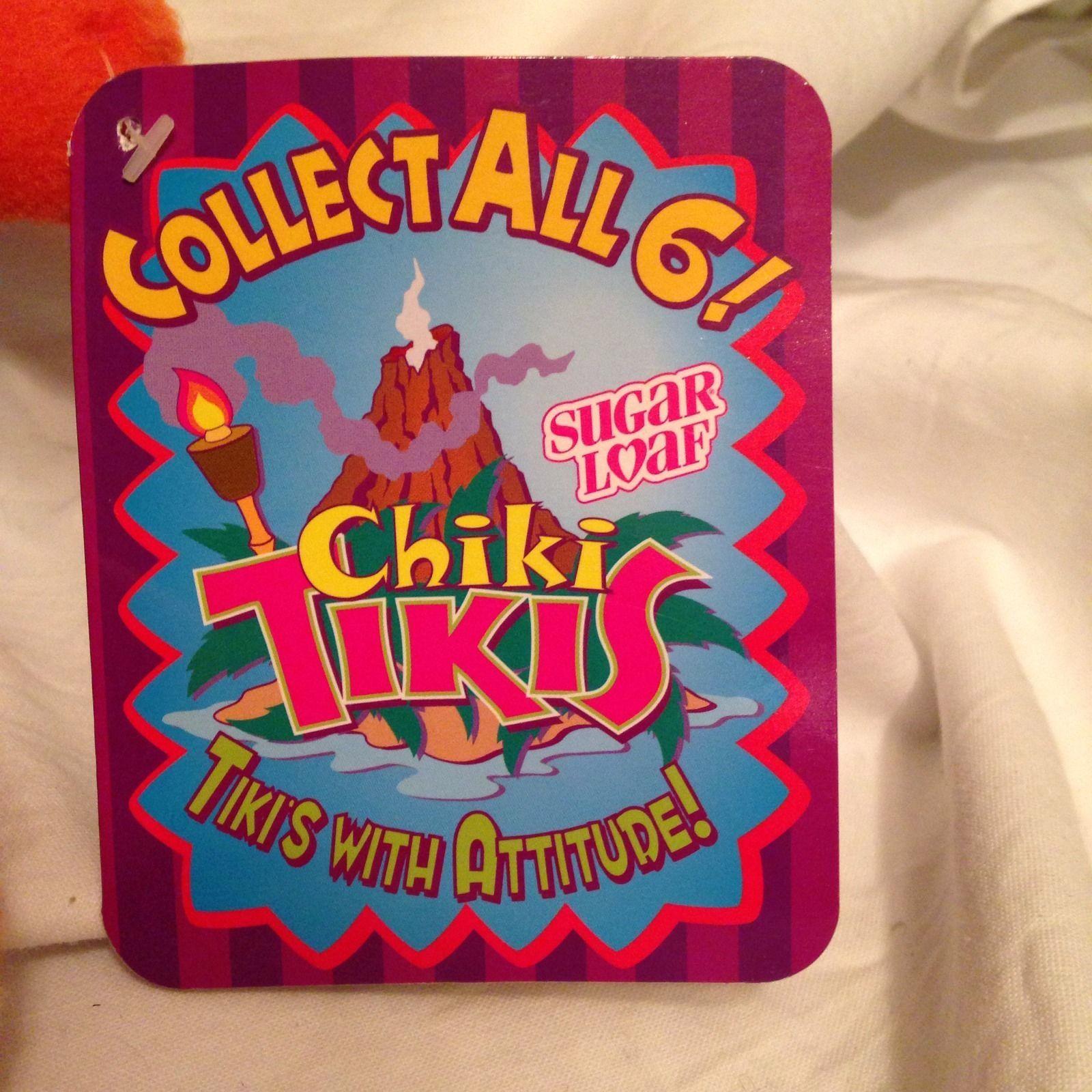 Chiki Tiki Plush Sugarloaf Mahina Collectable New NWT