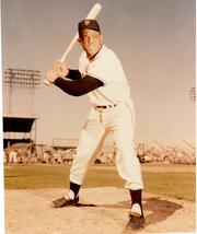 Willie Mays Stance SF Giants Vintage 8X10 Color Baseball Memorabilia Photo - $6.99