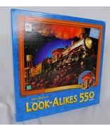 Joan Steiner's Look Alikes Train 550 Piece Jigsaw Puzzle Hidden Objects ... - $19.99