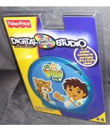 Fisher Price GO DIEGO GO Digital Arts & Crafts Studio Software NEW - $10.96