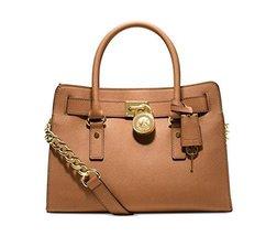Michael Kors Hamilton Saffiano Leather E/w Satc... - $320.76