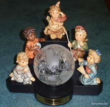 The Wanderers Goebel Hummel Figurine Millennium Set With Globe And Stand - RARE! - $945.02