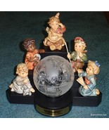 The Wanderers Goebel Hummel Figurine Millennium Set With Globe And Stand... - $945.02