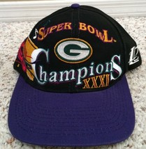 Vintage Green Bay Packers NFL Super Bowl XXXI 31 Champions Hat Cap - Fast Ship! - $29.69