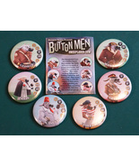 Unexploded Cow Button Men Game - 6 buttons and ... - $12.00