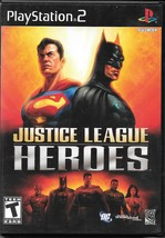 Justice League Heroes (Sony PlayStation 2, 2006) - $8.00