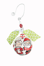 Glory Haus 20100113 Holly Jolly Christmas Ball Ornament, Multicolor - $33.00