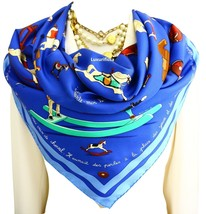 """Authentic Hermes Paris Scarf """"Raconte Moi Le Cheval"""" Dimitri Rybaltchenk... - $298.00"""